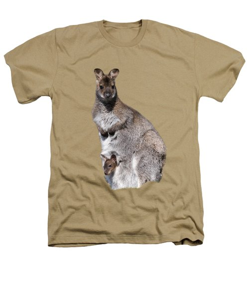 Wallaby Heathers T-Shirt by Scott Carruthers