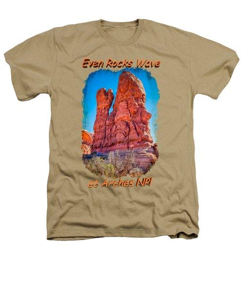 Waving Rock Heathers T-Shirt by John M Bailey
