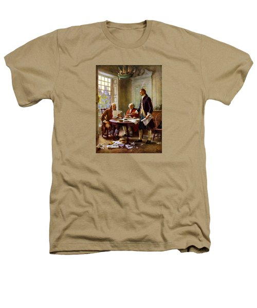 Writing The Declaration Of Independence Heathers T-Shirt by War Is Hell Store