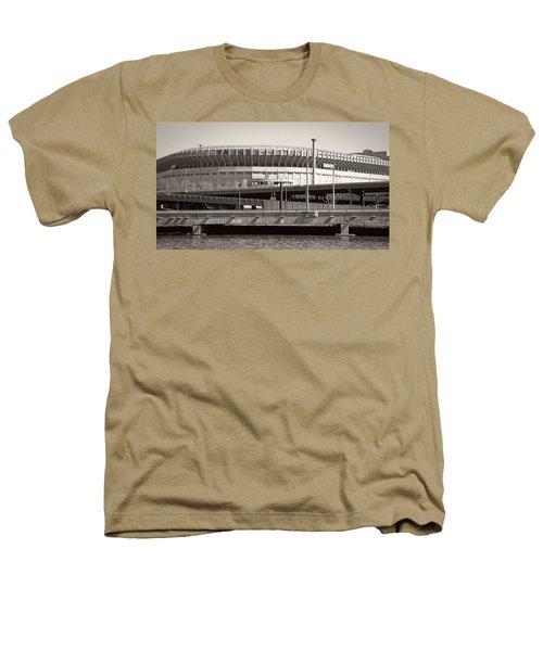 Yankee Stadium    1923  -  2008 Heathers T-Shirt by Daniel Hagerman