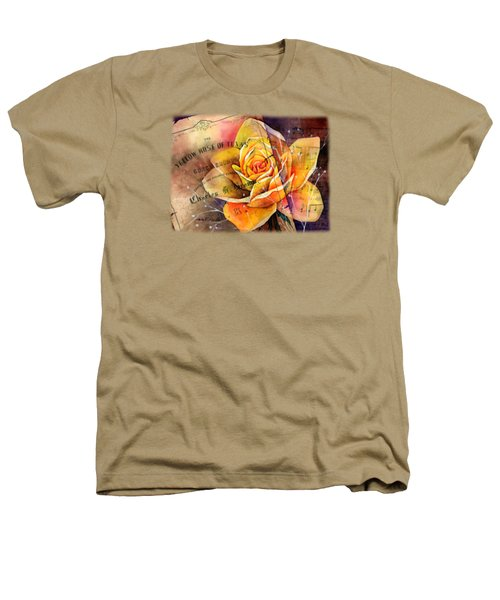 Yellow Rose Of Texas Heathers T-Shirt by Hailey E Herrera