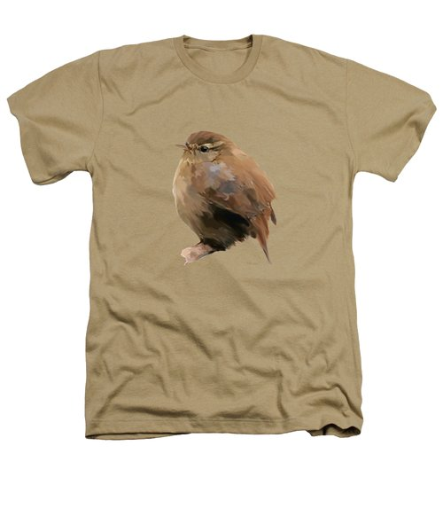 Young Female Blackbird - Turdus Merula Heathers T-Shirt by Bamalam  Photography