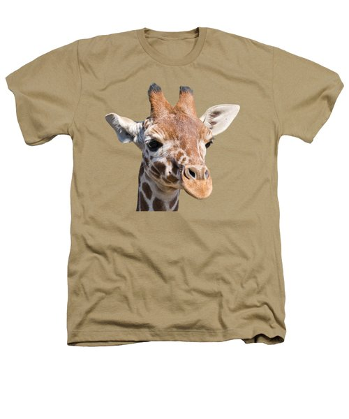 Young Giraffe  Heathers T-Shirt by Scott Carruthers