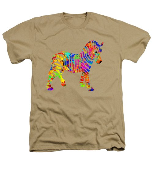Zebra Heathers T-Shirt by Christina Rollo