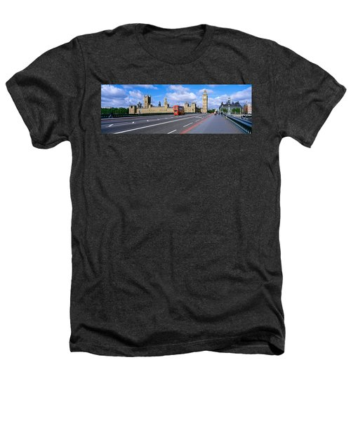 Parliament Big Ben London England Heathers T-Shirt by Panoramic Images