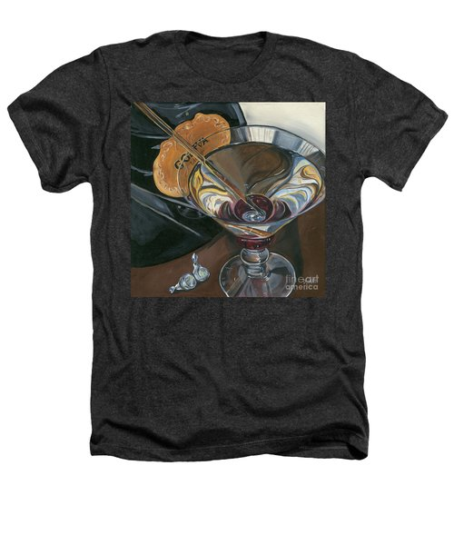 Chocolate Martini Heathers T-Shirt by Debbie DeWitt