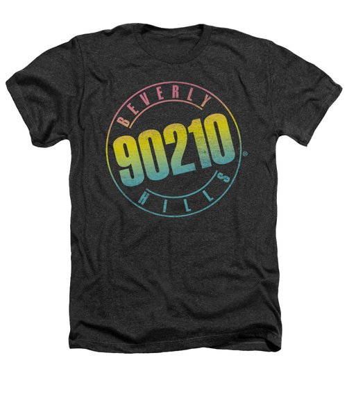 90210 - Color Blend Logo Heathers T-Shirt by Brand A