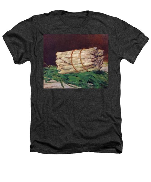 A Bunch Of Asparagus Heathers T-Shirt by Edouard Manet