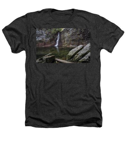 Autumn Swirls Heathers T-Shirt by James Dean