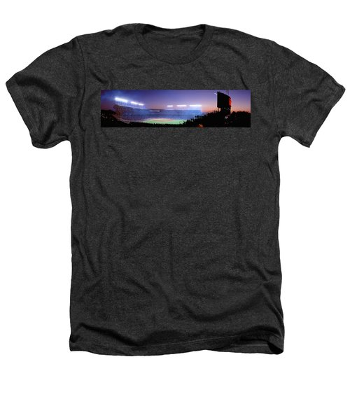 Baseball, Cubs, Chicago, Illinois, Usa Heathers T-Shirt by Panoramic Images