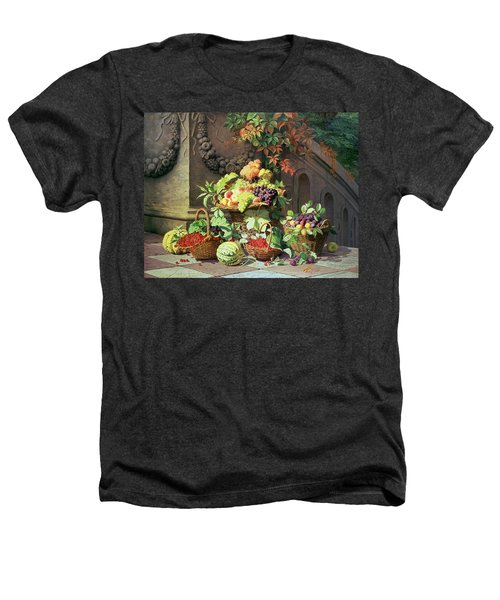 Baskets Of Summer Fruits Heathers T-Shirt by William Hammer