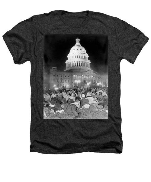 Bonus Army Sleeps At Capitol Heathers T-Shirt by Underwood Archives