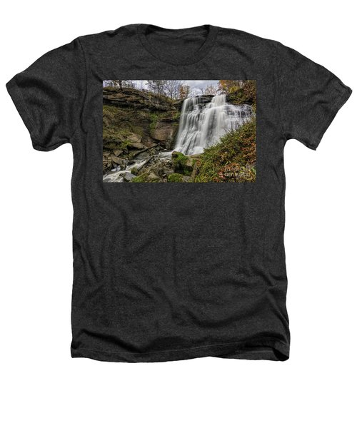 Brandywine Falls Heathers T-Shirt by James Dean