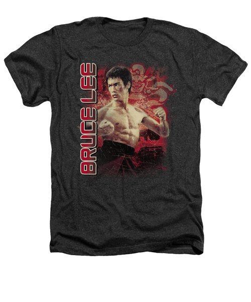 Bruce Lee - Fury Heathers T-Shirt by Brand A
