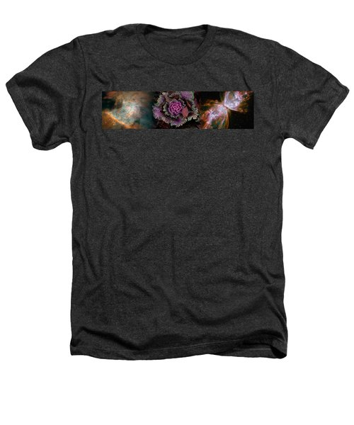 Cabbage With Butterfly Nebula Heathers T-Shirt by Panoramic Images