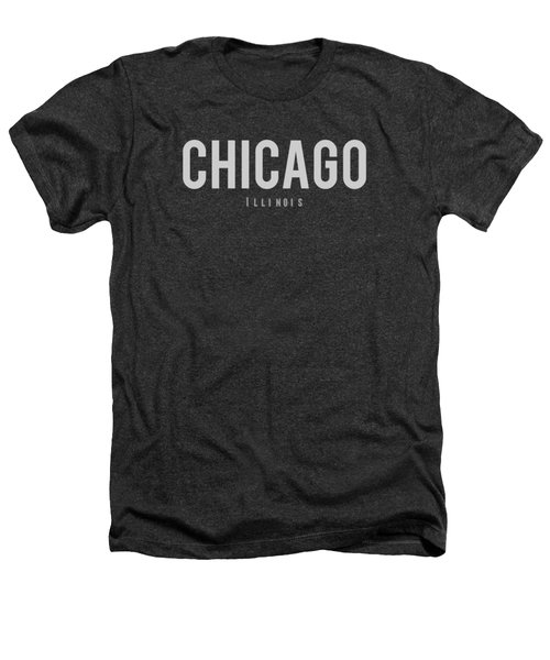 Chicago, Illinois Heathers T-Shirt by Design Ideas