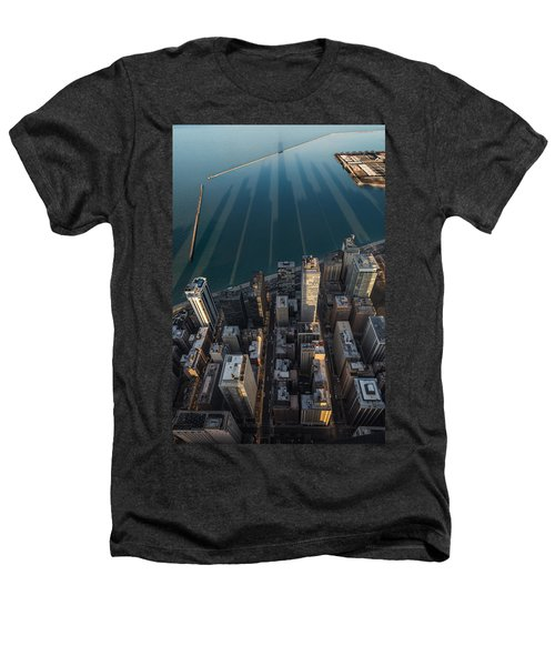 Chicago Shadows Heathers T-Shirt by Steve Gadomski