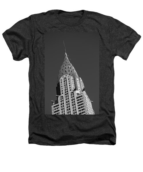 Chrysler Building Bw Heathers T-Shirt by Susan Candelario