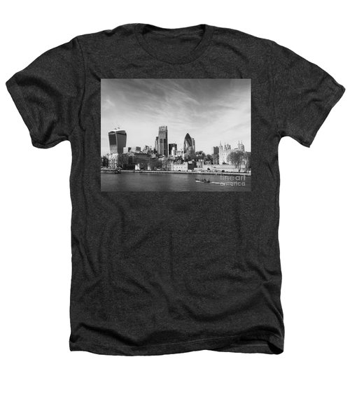 City Of London  Heathers T-Shirt by Pixel Chimp