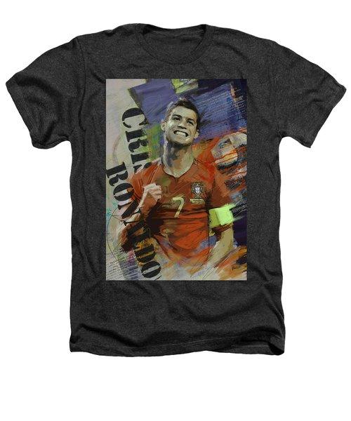 Cristiano Ronaldo - B Heathers T-Shirt by Corporate Art Task Force