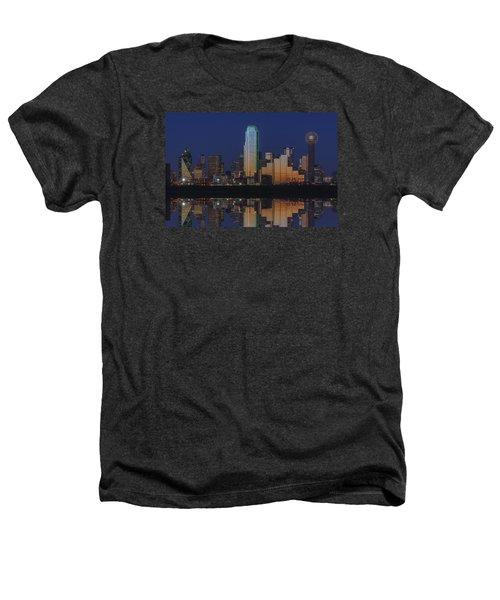 Dallas Aglow Heathers T-Shirt by Rick Berk
