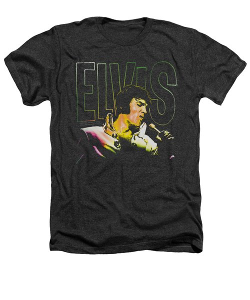 Elvis - Multicolored Heathers T-Shirt by Brand A