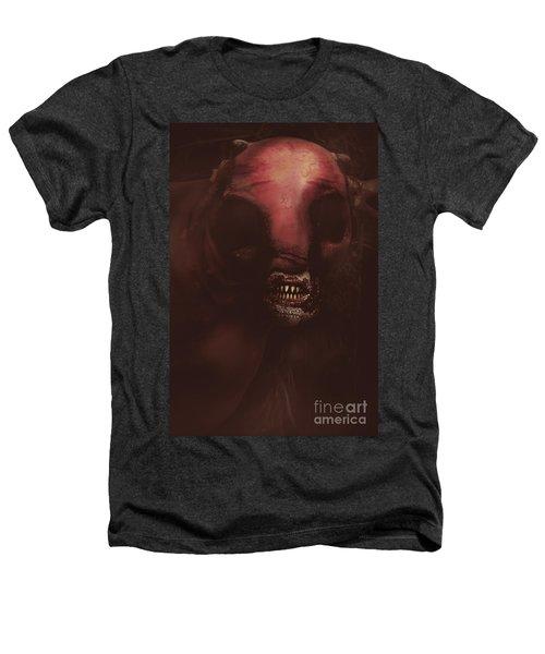 Evil Greek Mythology Minotaur Heathers T-Shirt by Jorgo Photography - Wall Art Gallery