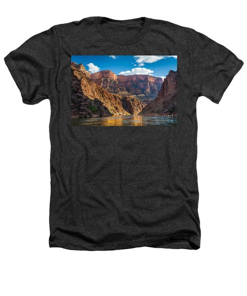 Journey Through The Grand Canyon Heathers T-Shirt by Inge Johnsson