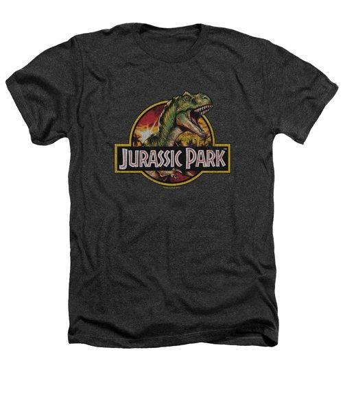 Jurassic Park - Retro Rex Heathers T-Shirt by Brand A