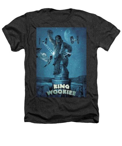 King Wookiee Heathers T-Shirt by Eric Fan
