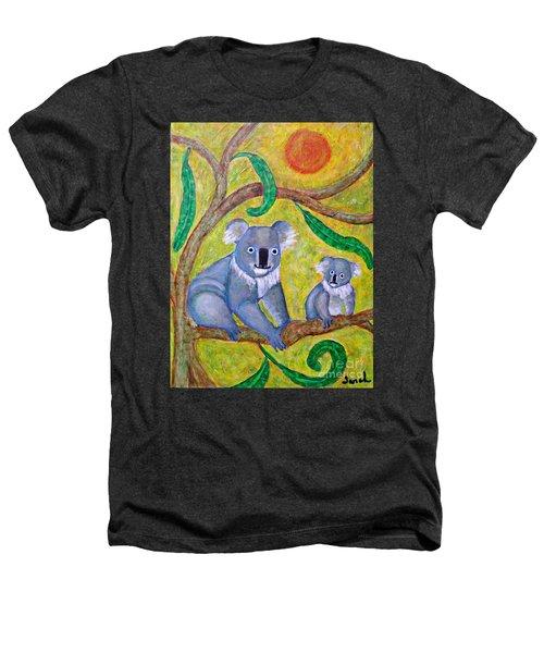 Koala Sunrise Heathers T-Shirt by Sarah Loft