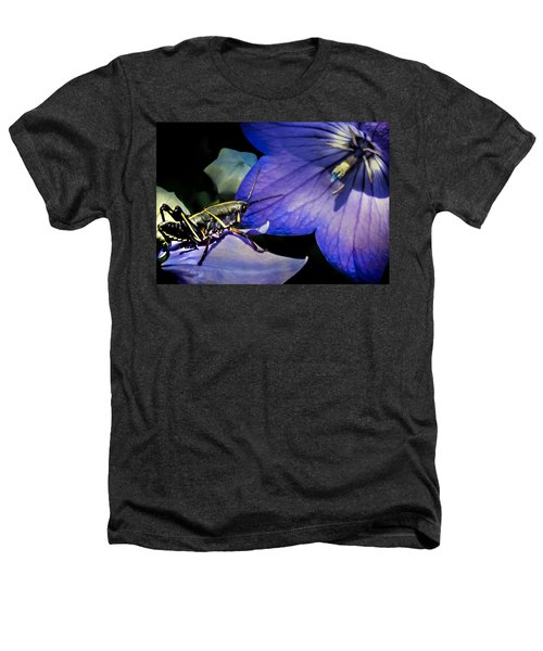 Contemplation Of A Pistil Heathers T-Shirt by Karen Wiles