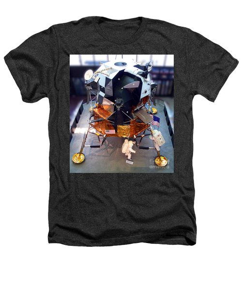 Lunar Module Heathers T-Shirt by Kevin Fortier