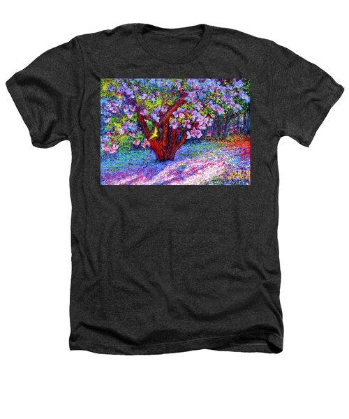 Magnolia Melody Heathers T-Shirt by Jane Small