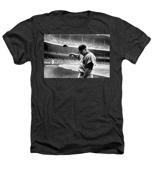 Mickey Mantle Heathers T-Shirt by Gianfranco Weiss