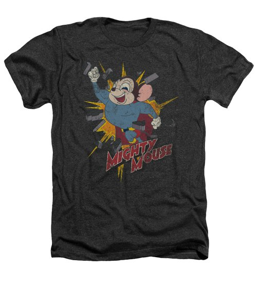 Mighty Mouse - Break Through Heathers T-Shirt by Brand A
