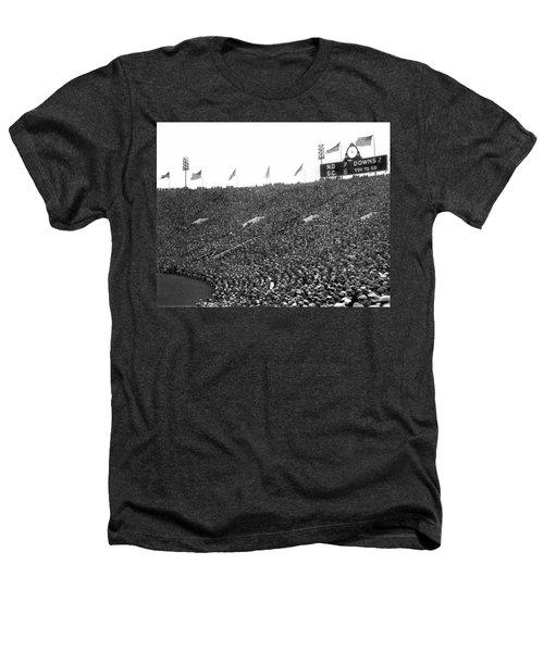 Notre Dame-usc Scoreboard Heathers T-Shirt by Underwood Archives