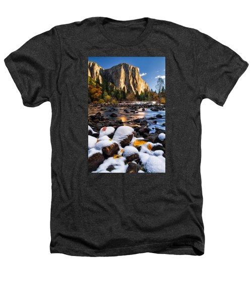 November Morning Heathers T-Shirt by Anthony Bonafede