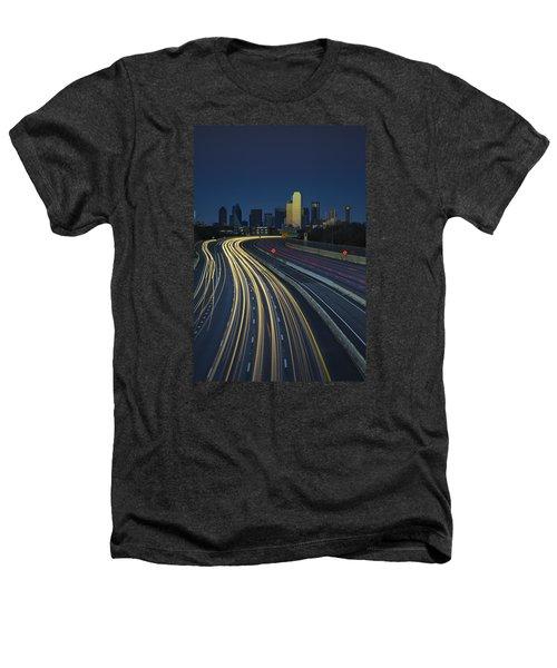Oncoming Traffic Heathers T-Shirt by Rick Berk