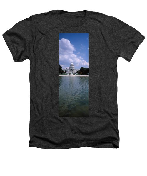 Reflecting Pool With A Government Heathers T-Shirt by Panoramic Images