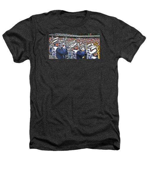 Sounds Of College Football Heathers T-Shirt by Tom Gari Gallery-Three-Photography