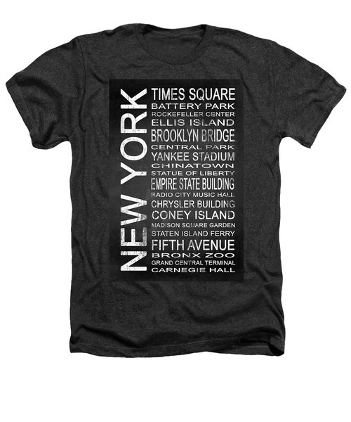 Subway New York 1 Heathers T-Shirt by Melissa Smith