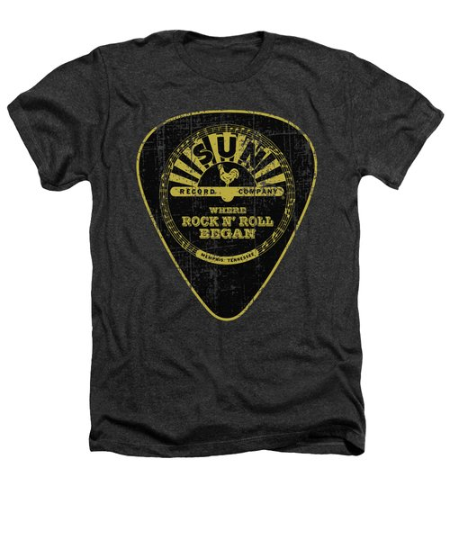 Sun - Guitar Pick Heathers T-Shirt by Brand A