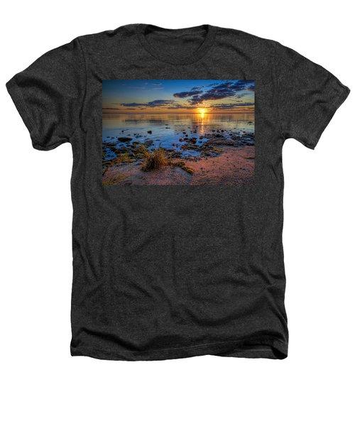 Sunrise Over Lake Michigan Heathers T-Shirt by Scott Norris