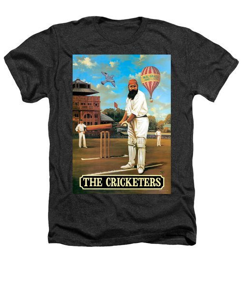 The Cricketers Heathers T-Shirt by Peter Green