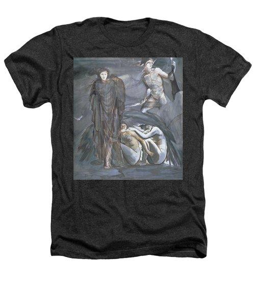 The Finding Of Medusa, C.1876 Heathers T-Shirt by Sir Edward Coley Burne-Jones