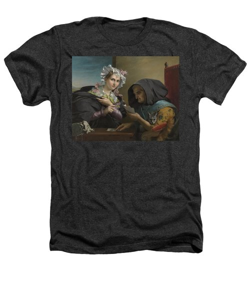 The Fortune Teller Heathers T-Shirt by Adele Kindt
