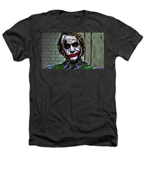 The Joker Heathers T-Shirt by Florian Rodarte