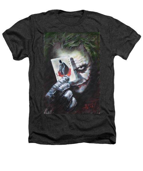 The Joker Heath Ledger  Heathers T-Shirt by Viola El