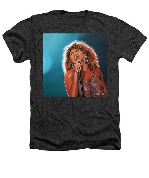 Tina Turner 3 Heathers T-Shirt by Paul Meijering
